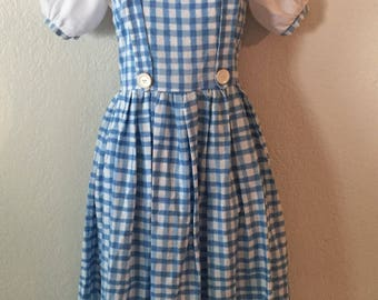 Vintage Adult Dorothy Wizard of Oz Costume