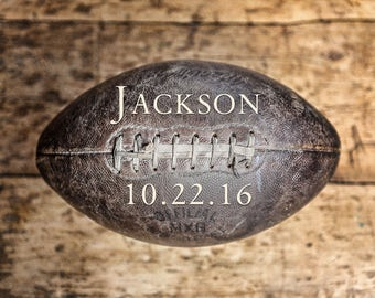 Personalized Gift for Boys | Personalized Football Gifts for Boys | Custom Football Gifts | Football Gift with Name | Sports Gifts for Him.