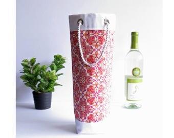 Bottle Gift Tote - Wine, Whiskey, Craft Beer, 750ml Bottle Bag