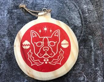 Santa Paws Ornament
