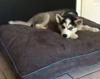 Dog Bed Cushion in a variety of fabrics