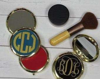 CLEARANCE SALE Compact Mirror - Purse Mirror - Monogram Mirror - Pocket Mirror