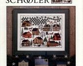 The Prairie Schooler: Christmas Village - Book No. 79  (OOP) - Cross Stitch Pattern