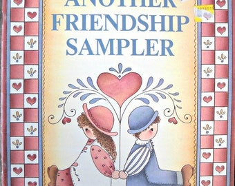 Another Friendship Sampler Decorative Painting Book, by Donna Farley, Vintage 1990
