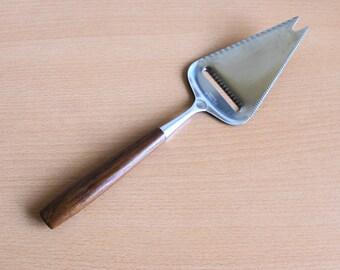 Danish Modern Teak Cheese Slicer 18 / 8 Stainless Steel Norway 1960's
