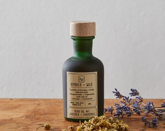 Herb Oil #1: Lavender + Chamomile