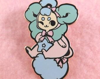 Plush Baby Puff Enamel Pin