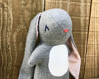 Daisy the Rabbit, organic rabbit, rabbit, stuffed rabbit, organic toy, stuffed bunny, stuffed animal, velveteen rabbit, organic, bunny