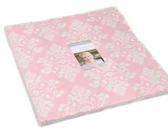 "Sale, Lily and Will Revisited Layer Cake by Bunny Hill of Moda Fabric, 2800LC, 42 Piece 10"" Squares, Sweet Baby Fabric"