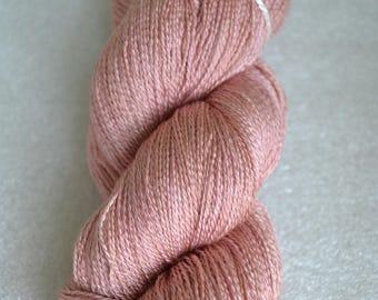 2 ply yarn, lace weight, silk superwash merino yarn 2ply 860 yards 100g for knitting crochet, handdyed