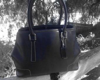 Coach Black Top Handle Bag