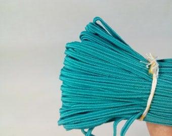 54.68 yards (50m) Turquoise Soutache Braid Soutache jewelry making Soutache cord, russian braid, soutache trim, bracelet cords, trim braid