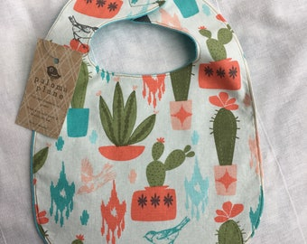 Bib for Baby and Toddler- Cactus