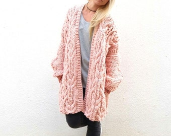 Cozy Sweater Jacket. Choose Your Color.