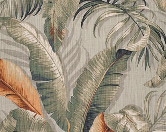 Pair of Custom Curtains, Tommy Bahama Home Palmiers Nutmeg fabric 50x84 at this price, any size is available