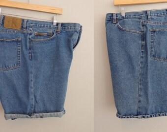 Calvin Klein Denim Jean shorts Broke-in boyfriend CK Shorts Men's size 40