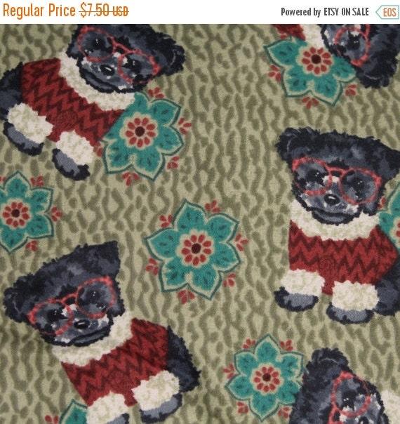 Dog fabric,Dog flannel fabric,Puppies fabric,Puppies and flowers flannel fabric,100% cotton flannel,Quilt fabric,Apparel fabric,Craft fabri