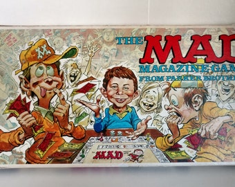 1979 The MAD Magazine Game From Parker Brothers