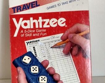Travel Yahtzee 1984