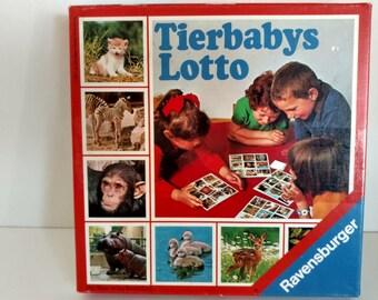 1977 Ravensburger Animal Picture lotto