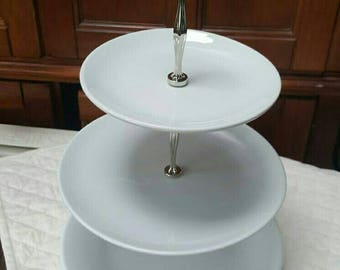 Custom drilling for Cake Stands for Sandra