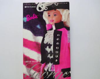 Vintage George Washington Barbie Doll NEW 1996