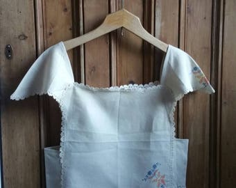 Ladies boho embroidered blouse hippie top festival clothing embroidery crop blouse cropped cami tops Dolly Topsy Etsy UK