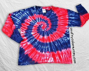 Soccer Goalie Shirt Long Sleeve Tie Dye-Child Sizes