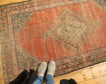 3.5x6 Antique Fereghan Rug