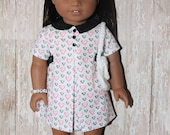 American Girl Valentine's for Meldoy 1960s