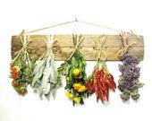 Dried Herb Rack, Dried Herbs, Kitchen Decor