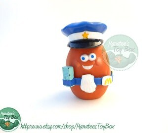 McDonalds McNugget Buddy Sarge 1980s Toy