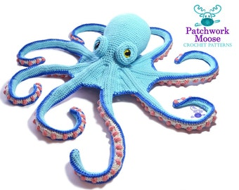Octopus Crochet Pattern PDF Instant Download - Claude