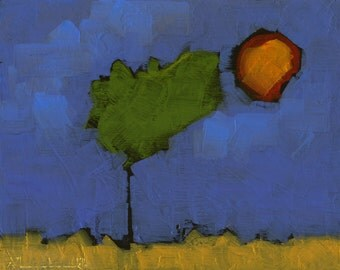 Original Oil Painting on Panel by John Shanabrook - 8 x 10 - The Simplest Heart