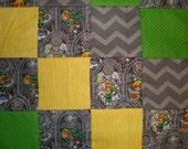 Legend of Zelda Patchwork Quilt