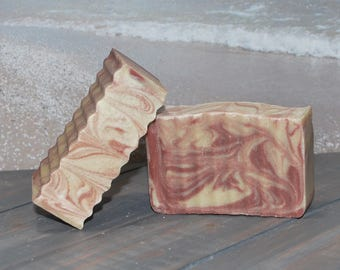 Goats Milk Soap ~ Cranberry