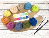 Spring 2017 Merino Wool Color Palette