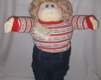 "Wndrfl 21"" 1978 Xavier Roberts Cabbage Patch Soft Sculpture Little People Doll"