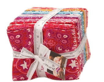 Spellbound cotton fat quarter bundle by Urban Chicks for Moda fabric