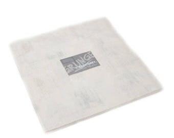 Grunge cotton Junior layer cake Creme by Moda fabric 30150JLC 270