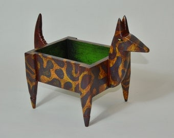 Blue & Gold Animal Box
