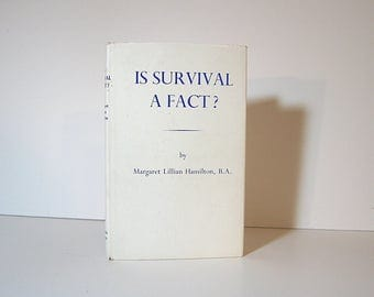 Psychic Science, Spiritualism, Life After Death, Spirit Communication, Deep Trance Automatic Writing Is Survival a Fact? Vintage Occult Book