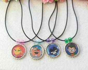 10 Teen Titans  Party favors.