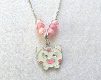 Pua Pig Necklace. Inspired by Moana
