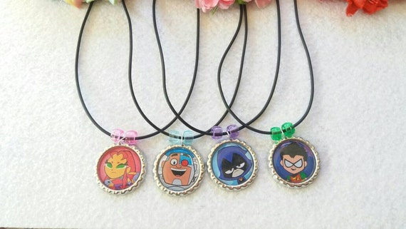10 Teen Titans  Party favors.