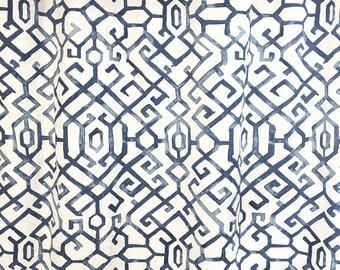 Regal Jing. Navy Drapery Panels. Pair of Two. 63 84 90 96 108 Length. Blue Curtains. Custom Window Treatments. Navy Drapery.