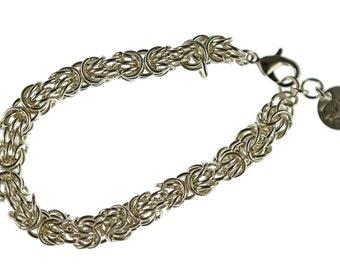 Silver Tryzantine Bracelet