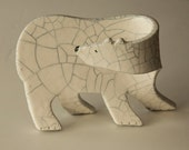 Ceramic Polar Bear......  -  please do not buy this item  - it is reserved for Joan Scott.