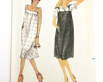 Butterick 3722 Pattern, Size Misses Size 8, 10, 12 Dress or Jumper, Fast and Easy, Summer Sundress or Winter Jumper itsyourcountry