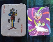Miniature Playing Cards deck from Chuck E Cheese 90s Arcade Prize mini card set sealed